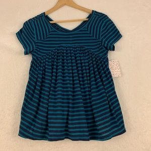 Free People Striped Top Size Small NWT